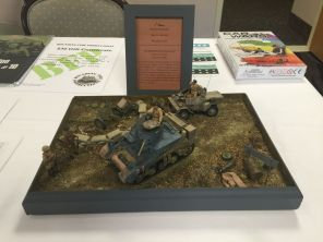 1st Place Trophy/Diorama! Many thanks to Christopher Fleury