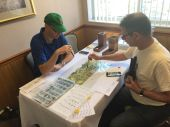 First dice drop with David Garvin and Rob Arrieta